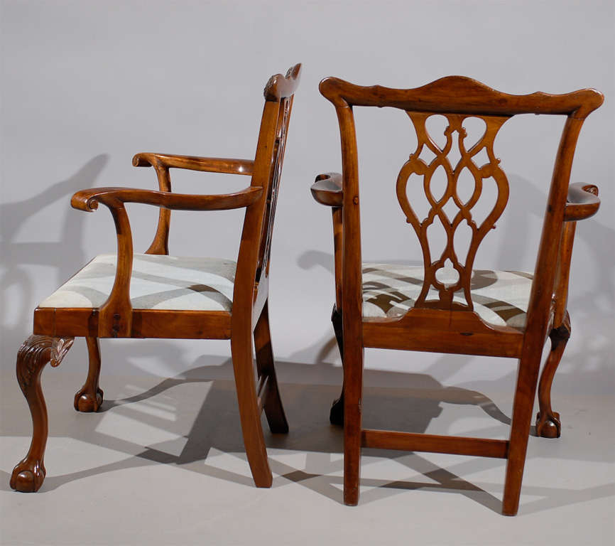 Chippendale Corner Chair Chippendale Arm Chairs in