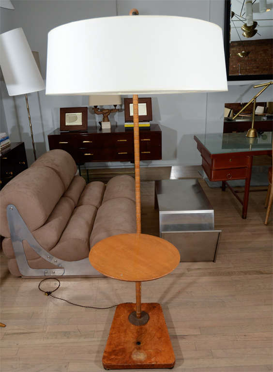 Faux Bamboo Reading Floor Lamp 6