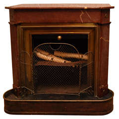 Marble Fireplace / Stove