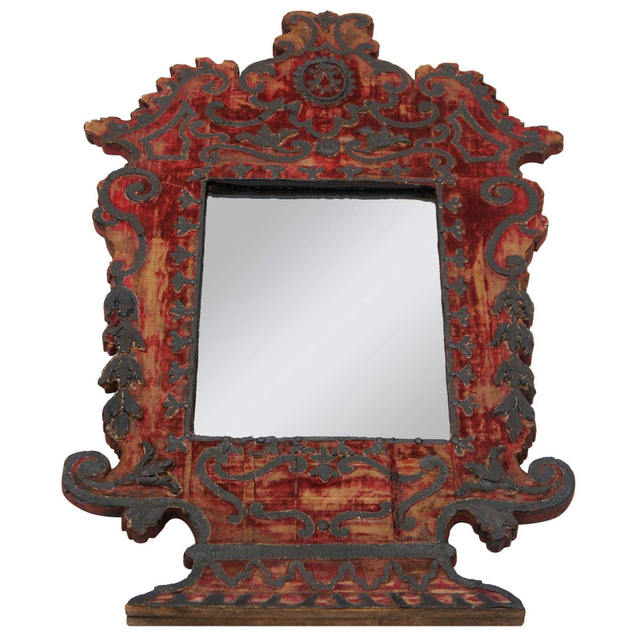 Italian baroque mirror c 1650 tony duquette provenance for Italian baroque mirror
