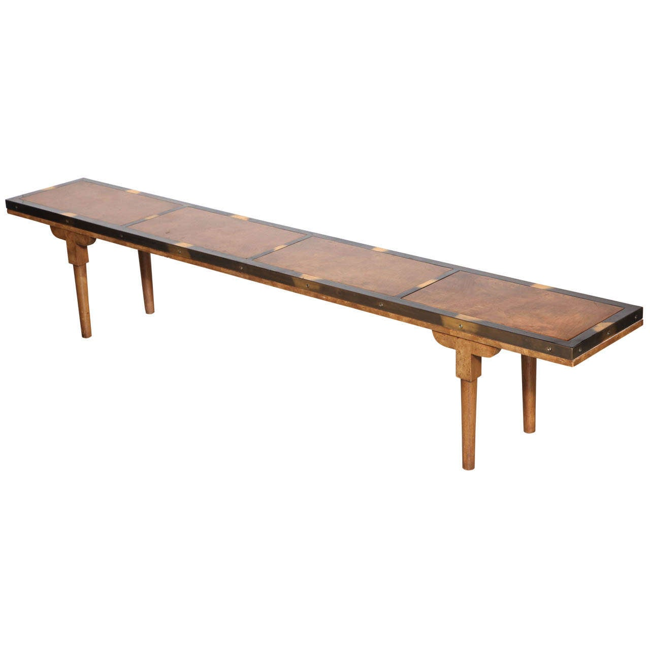 narrow mastercraft coffee table at 1stdibs