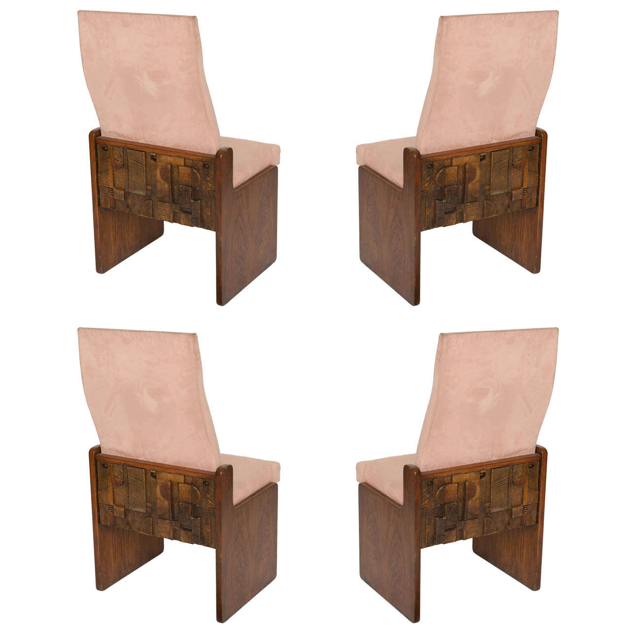 Lane Dining Room Sets Brutalist Dining Room Chairs 6 For Sale At 1stdibs