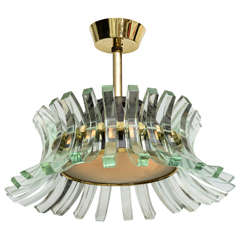 Italian Elegant Timeless and Rare Chandelier Design by Fontana ...