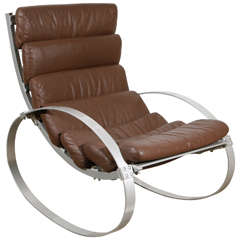 Hans Kaufeld Rocking Chair