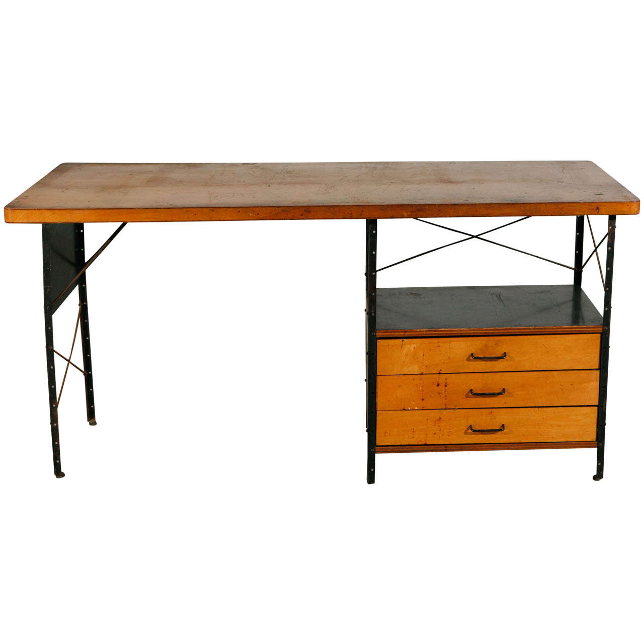 Charles eames desk by herman miller at 1stdibs - Eames table herman miller ...