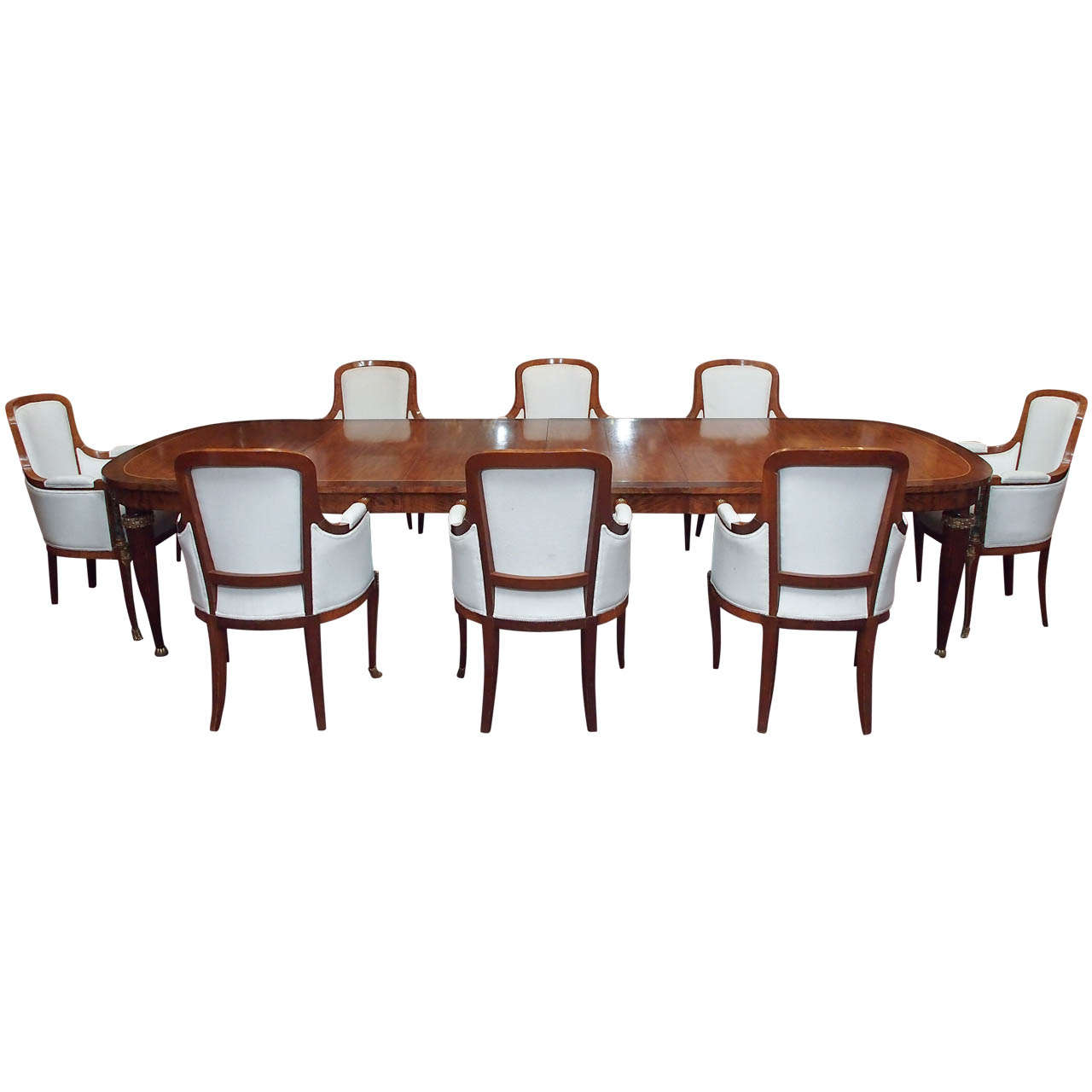 antique exceptional french dining set circa 1920 table and chairs at 1stdibs. Black Bedroom Furniture Sets. Home Design Ideas