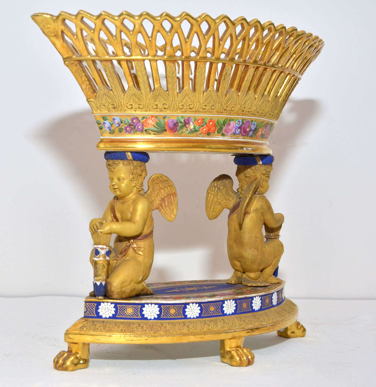 Fabulous Sevres Porcelain Center Of Table At 1stdibs