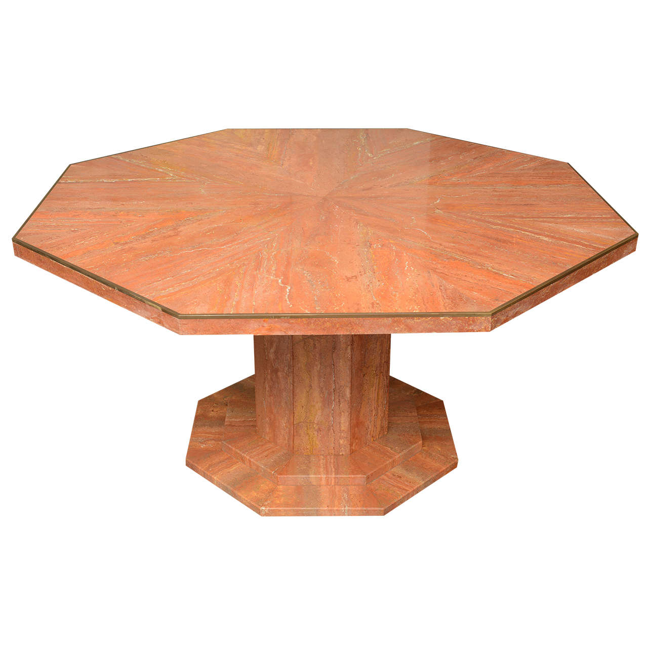 Octagonal Marble Dining Table at 1stdibs : X from www.1stdibs.com size 1280 x 1280 jpeg 99kB