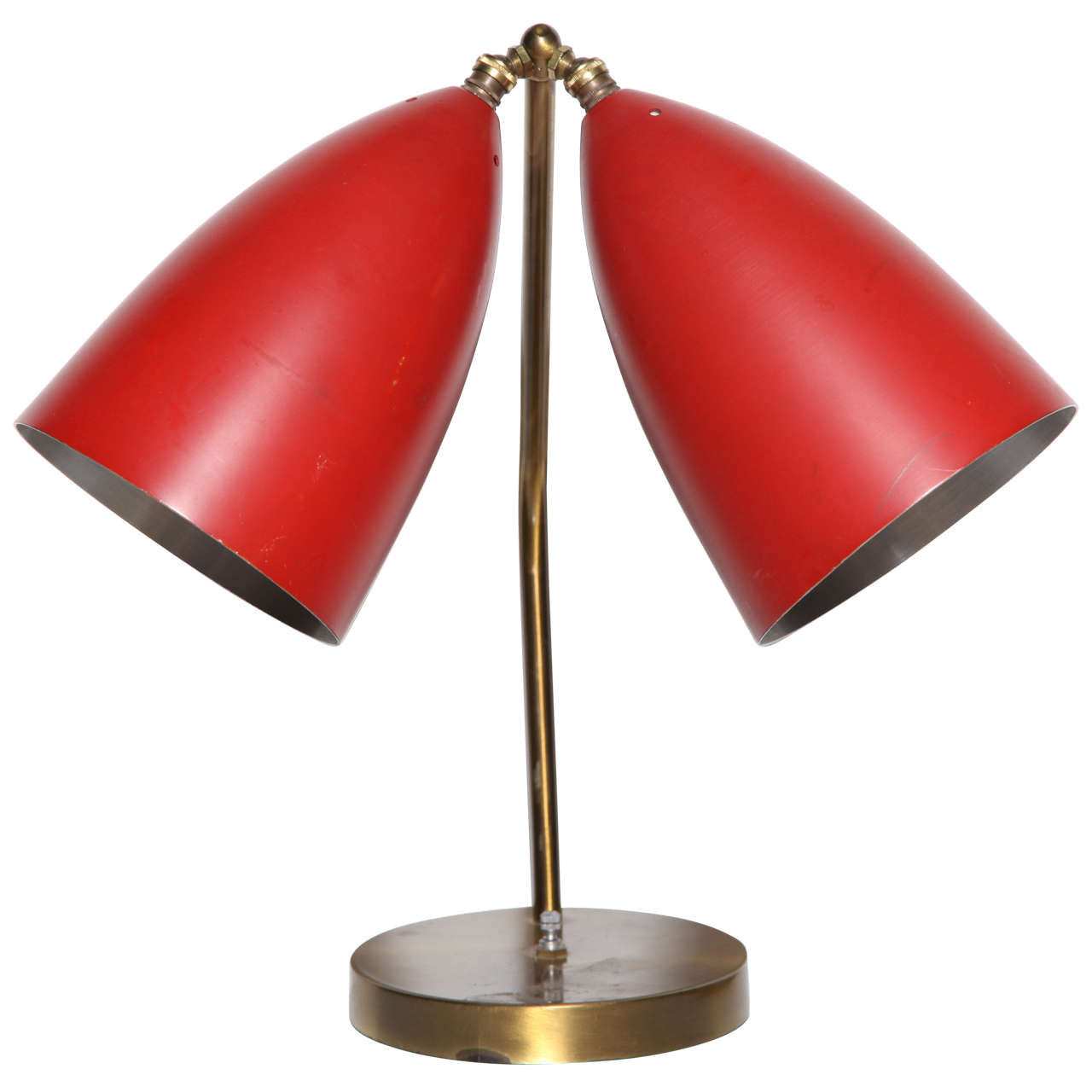 Rare 1940s greta grossman magnusson double cone table lamp at 1stdibs rare 1940s greta grossman magnusson double cone table lamp 1 geotapseo Gallery