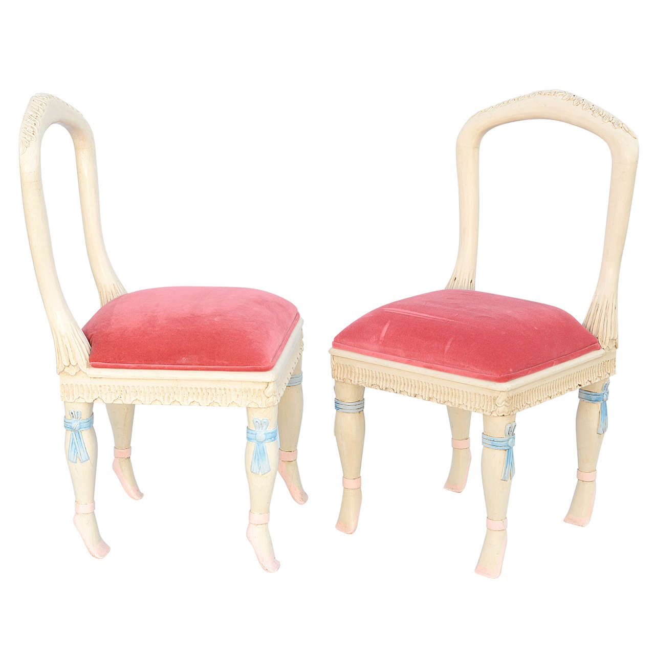 Set of Four Ballerina Side Chairs