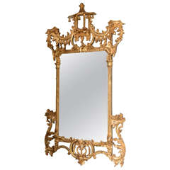 English Antique Gilt Mirror, George III Style