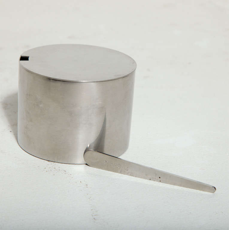Cylinda Condiment Set By Arne Jacobsen For Stelton For