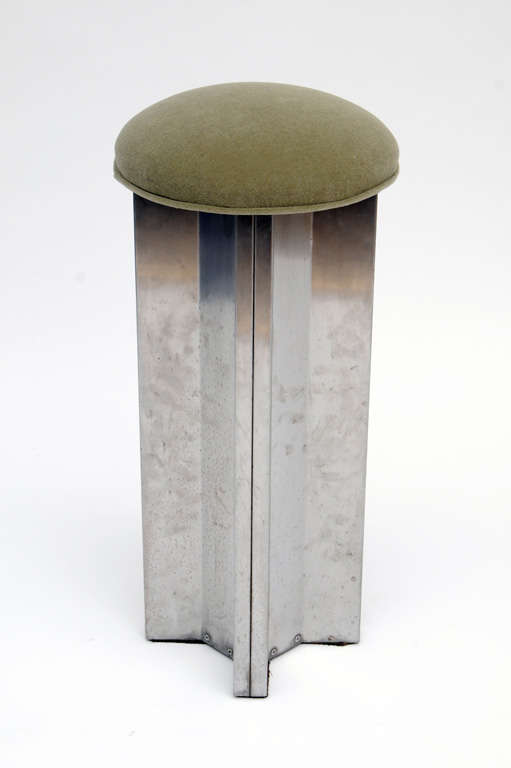 A great set of stools designed by Maison Jansen