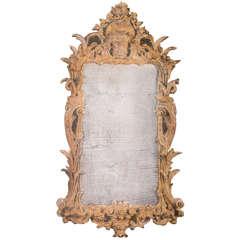 Pair of contemporary trompe l'œil mirrors - unique