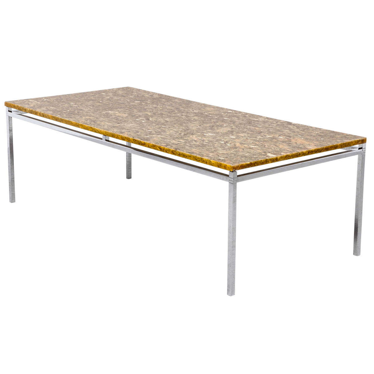 Florence knoll marble topped coffee table at 1stdibs Florence knoll coffee table
