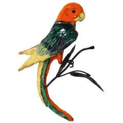 Parrot Sculpture 1950's