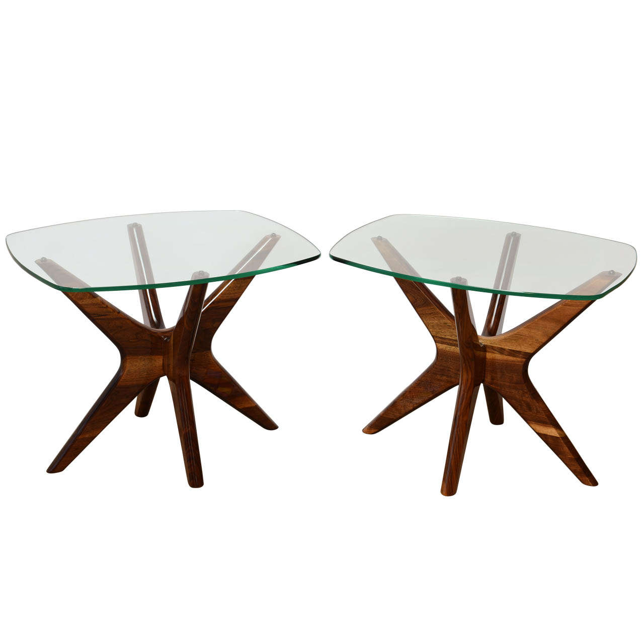 Adrian pearsall mid century sculptural side tables at 1stdibs