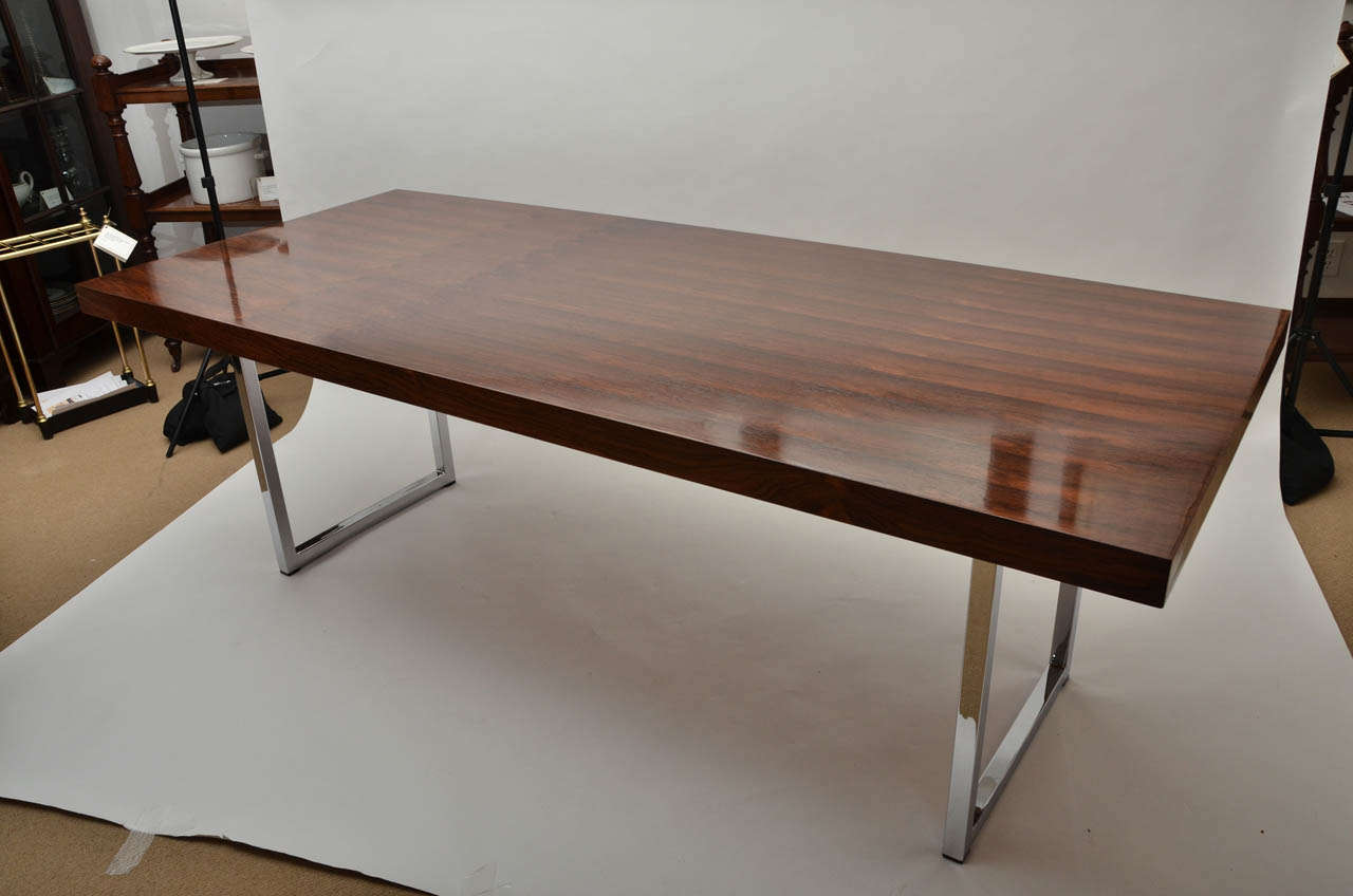 Mid century modern gordon russell rosewood writing or for 7 foot dining room table