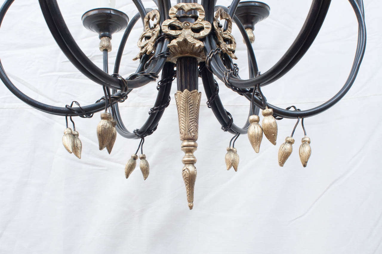 Neo Classical Style Six Light Chandelier At 1stdibs