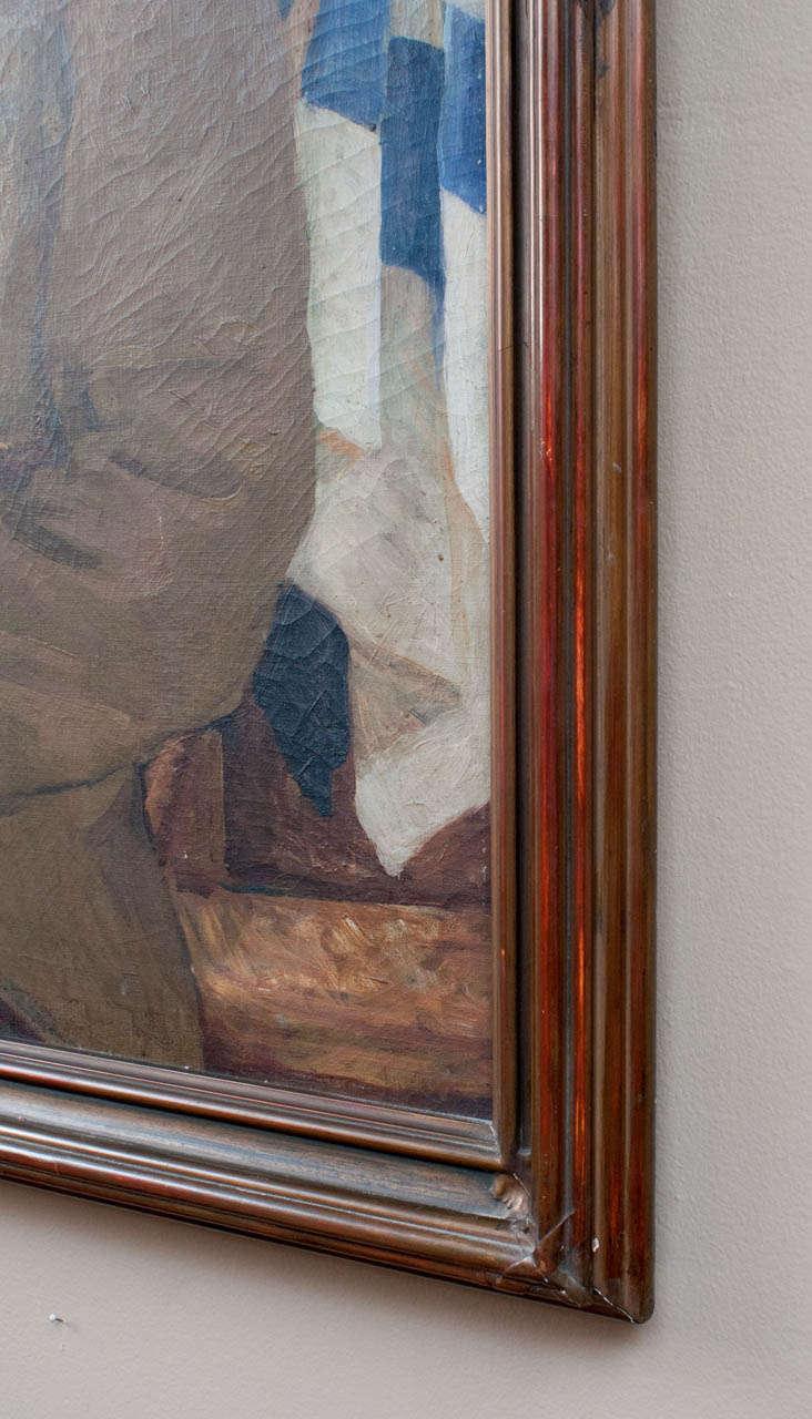 """Canvas """"The Kiltie"""" by Eben Farrington Comins For Sale"""