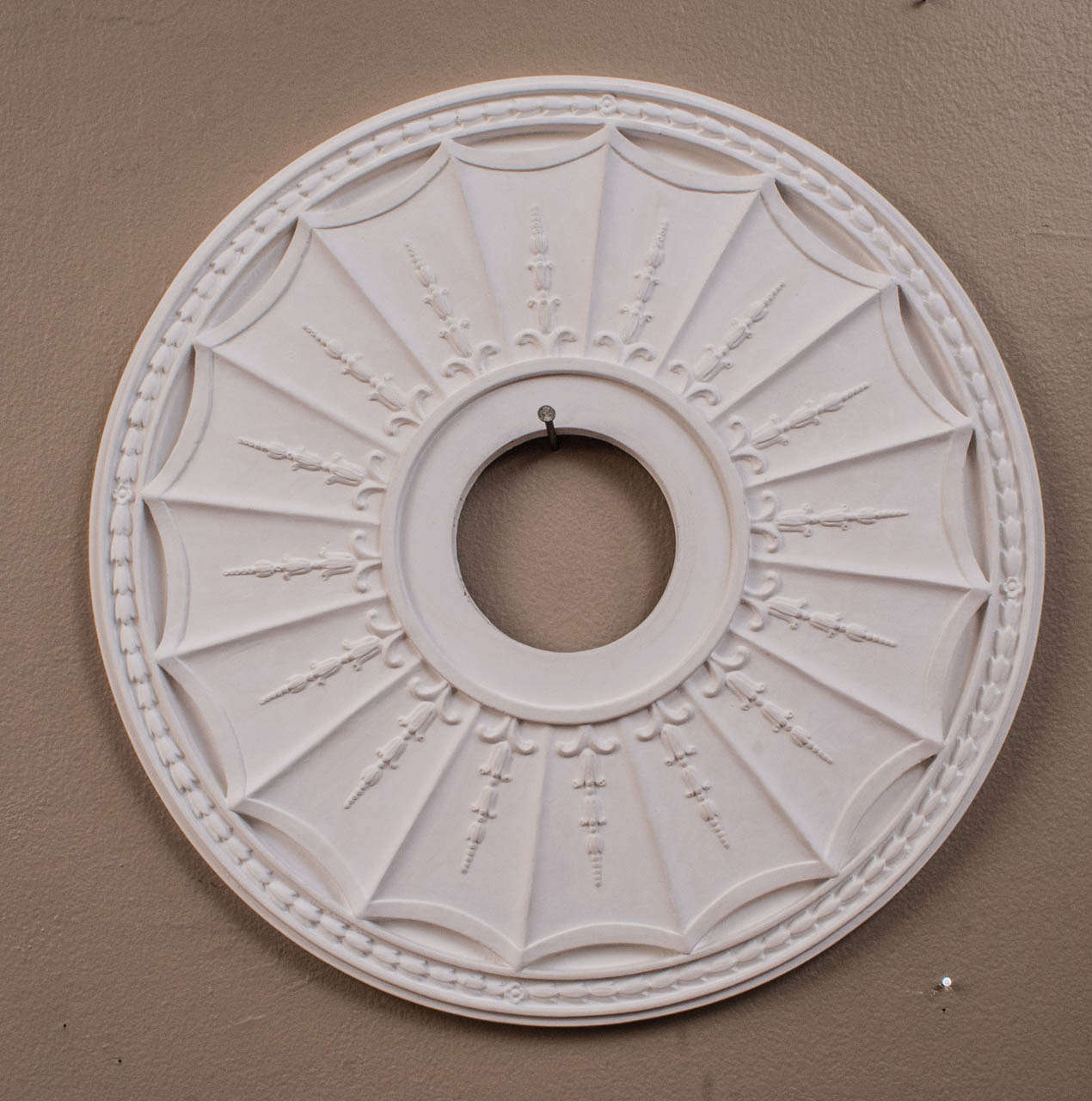 American Collection Of Hand Cast Plaster Copies Period Ceiling Medallions For