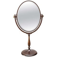 Continental Bronze Dressing Table Mirror