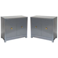 Tommi Parzinger for Charak Modern Pair of Cabinets