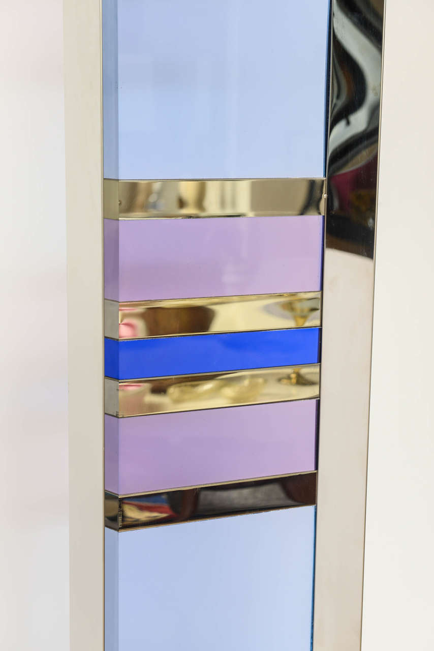 Late 20th Century Exceptional Vintage Lucite and Chrome Sculpture, Signed For Sale