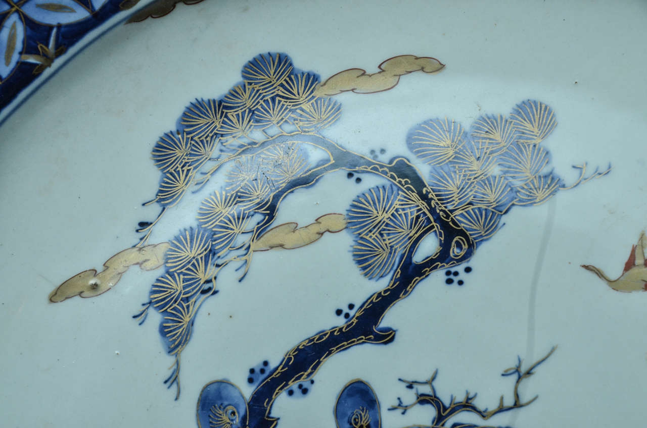 Imari Charger In Excellent Condition For Sale In East Hampton, NY