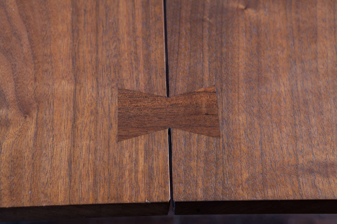 Walnut 20th Century George Nakashima Dining Table For Sale