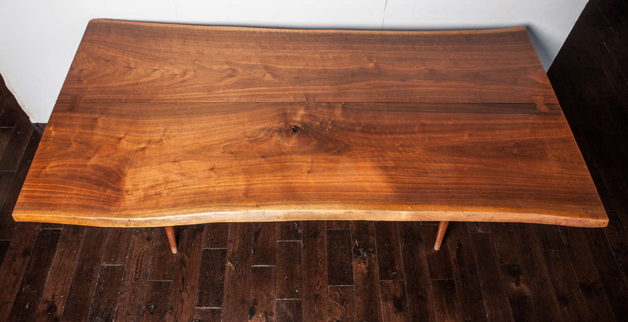 20th Century George Nakashima Dining Table For Sale 2