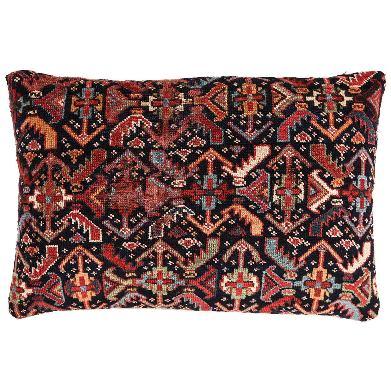 Antique Persian Carpet Pillow at 1stdibs