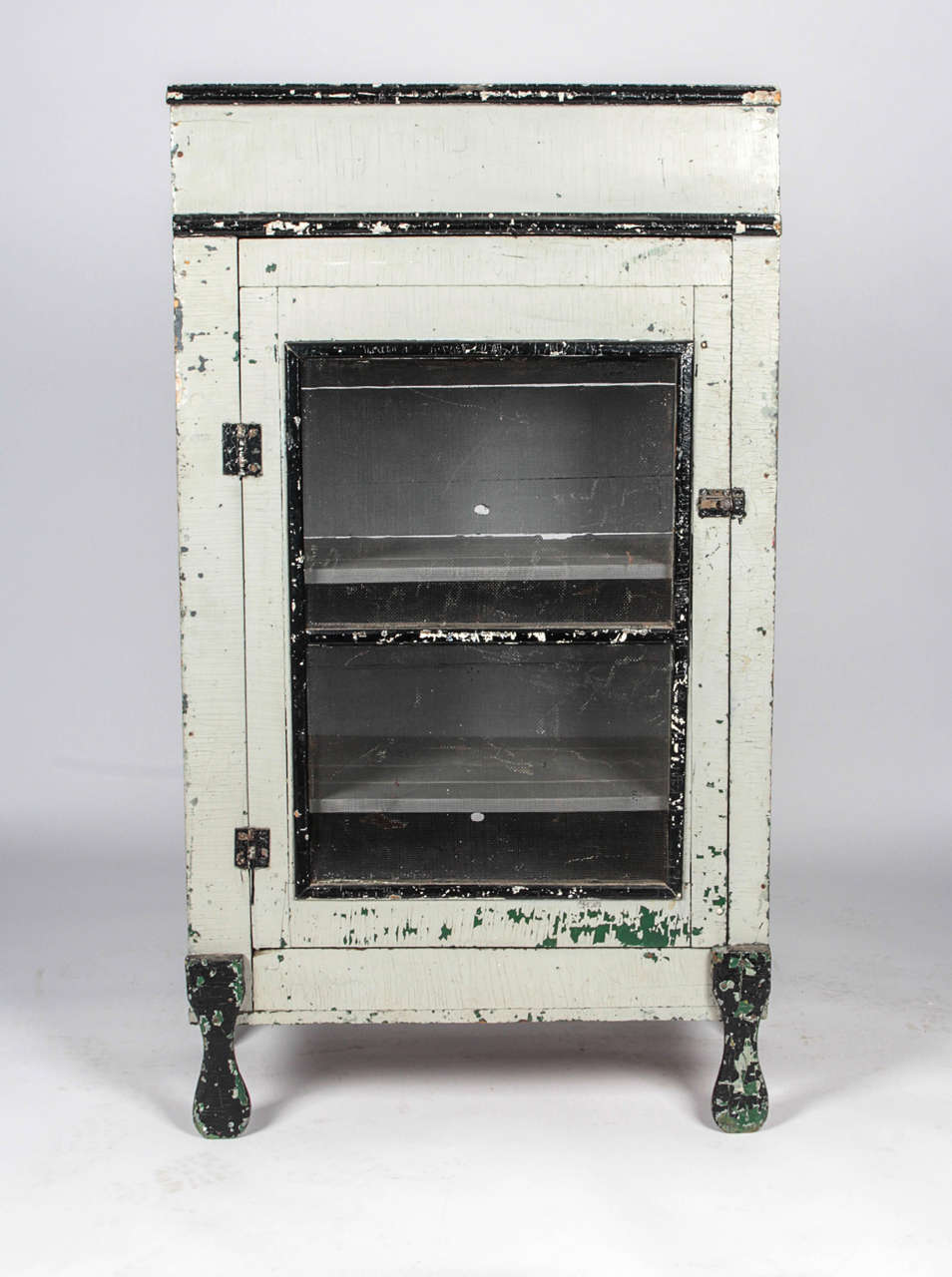 19th C Pie Safe With Mesh Screen At 1stdibs
