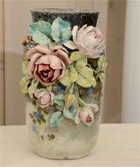 French Art Pottery vase image 2