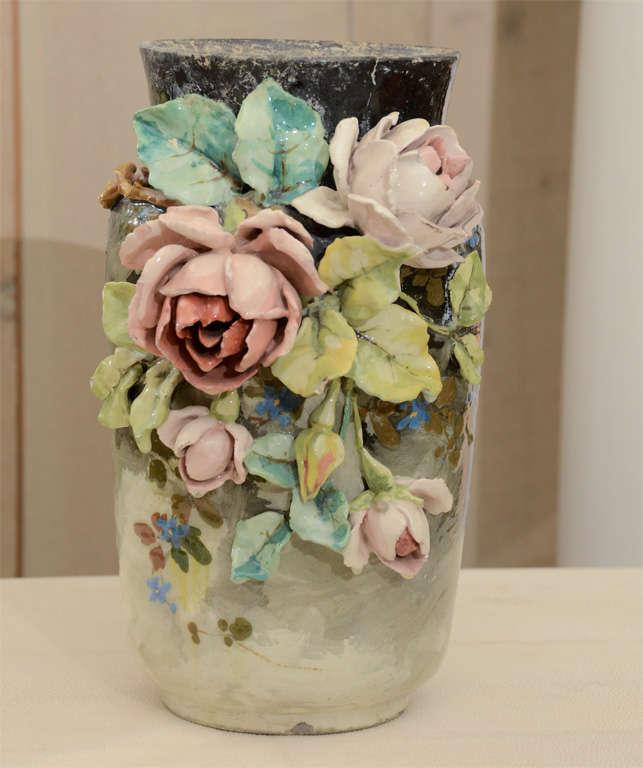 French Art Pottery vase 2