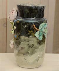French Art Pottery vase image 3