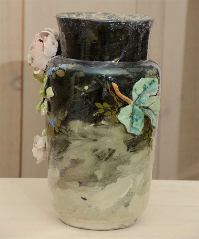 French Art Pottery vase image 3