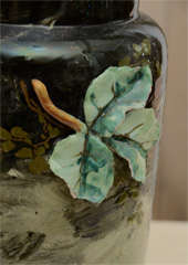 French Art Pottery vase thumbnail 4