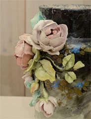 French Art Pottery vase image 5