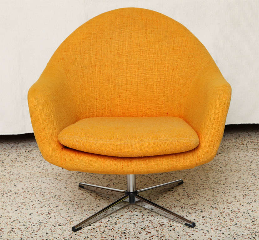 Stupendous Fab Overman Swivel Egg Chair Sweden At 1Stdibs Andrewgaddart Wooden Chair Designs For Living Room Andrewgaddartcom