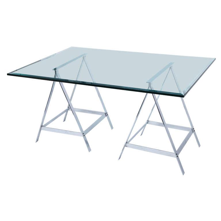 Alessandro Albrizzi Trestle Table For Sale