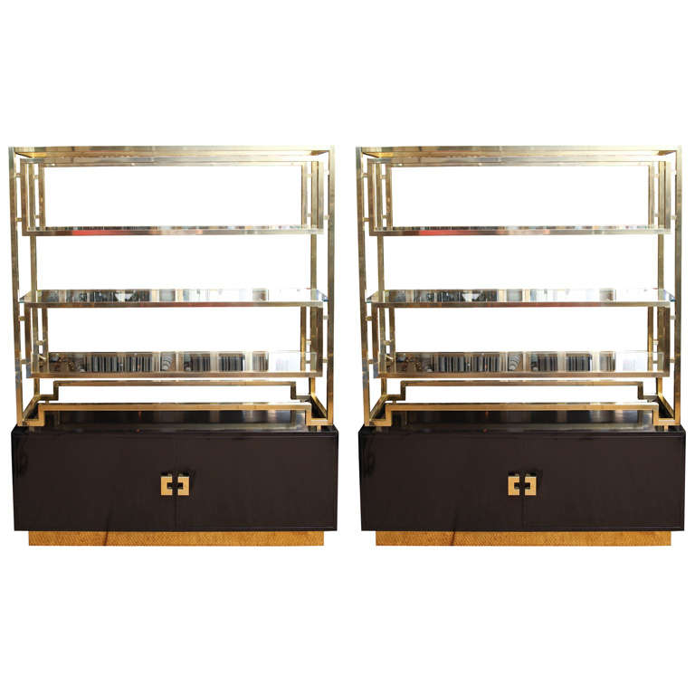 Exquisite tager cabinets for sale at 1stdibs - Etagere cases carrees ...