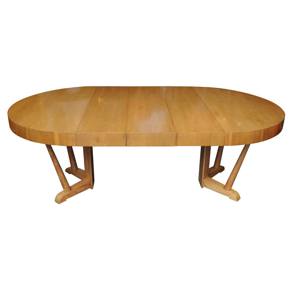 rare robsjohn gibbings expanding dining table is no longer available