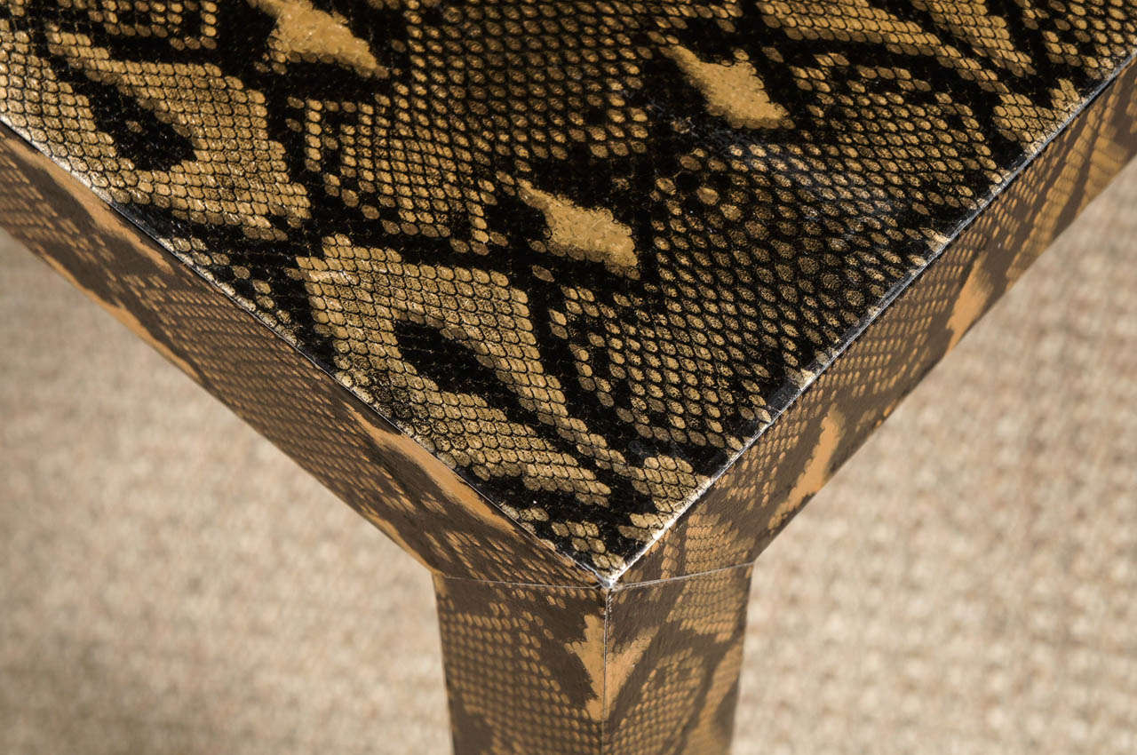 A python coffee table for sale at 1stdibs for Table in python