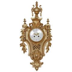 Belle Époque Ormolu Cartel Clock
