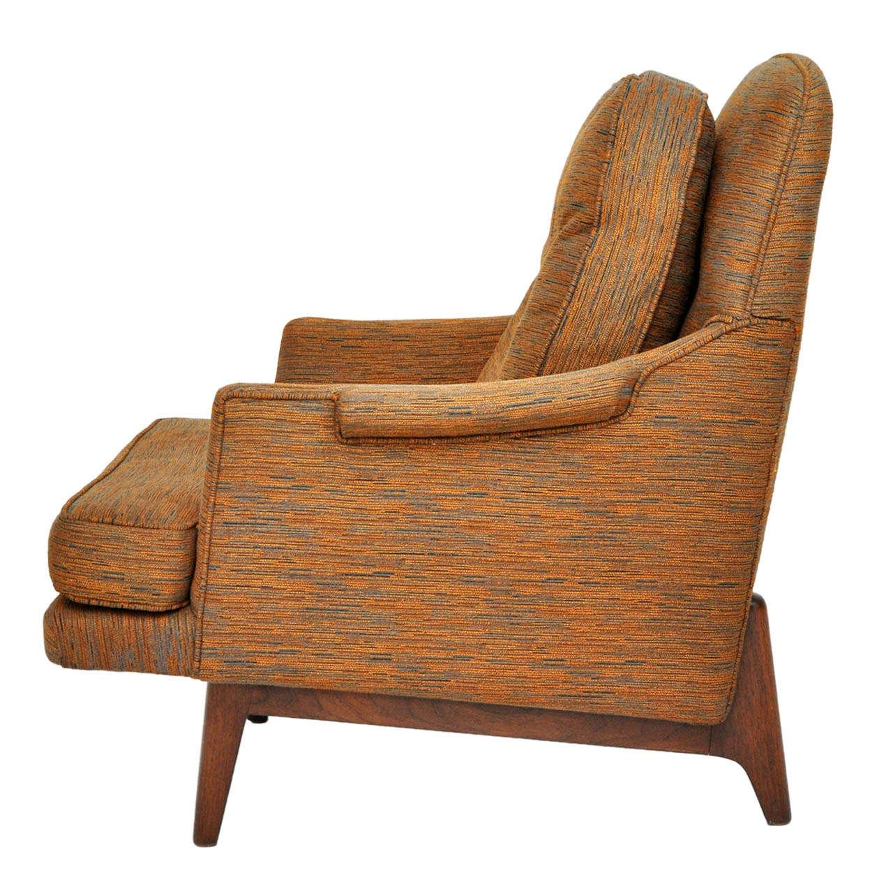 Dunbar janus lounge chair edward wormley at 1stdibs - Edward wormley chairs ...