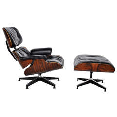 Rosewood Charles Eames Lounge Chair - Herman Miller