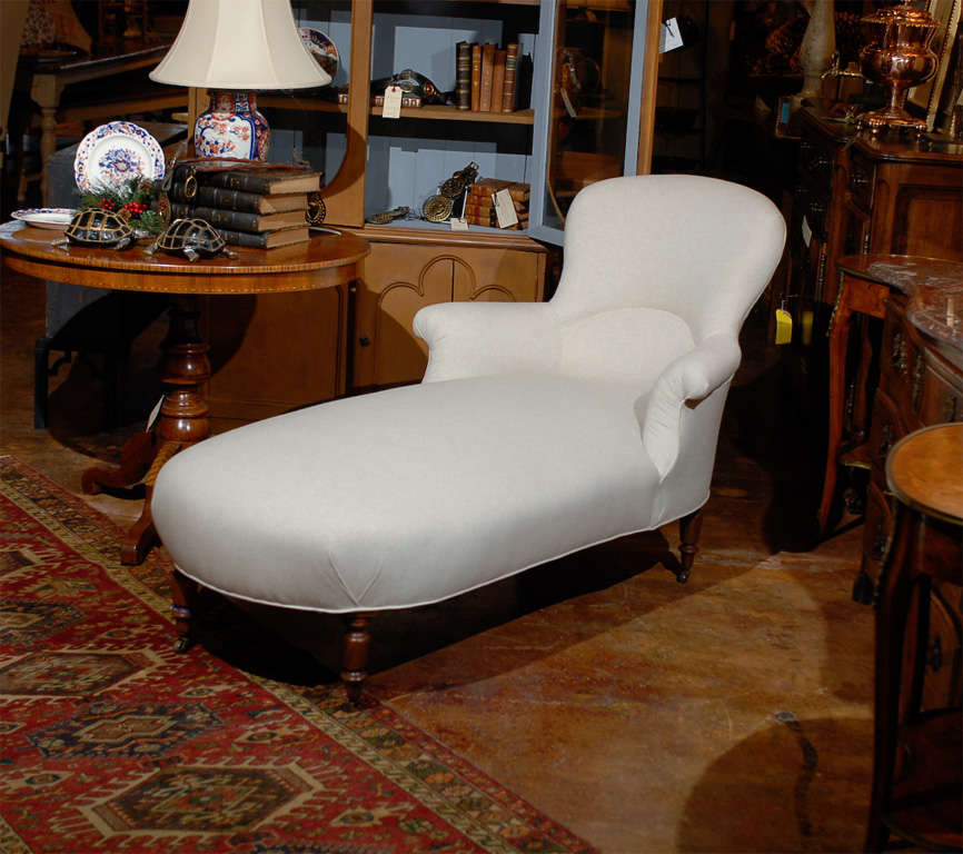 French chaise lounge at 1stdibs for Chaise lounge atlanta