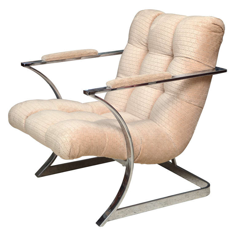 Milo Baughman Arm Chair