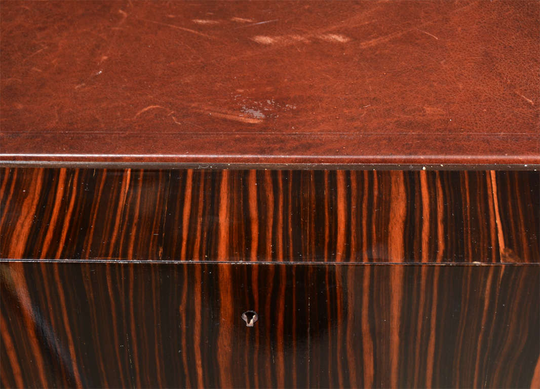 deco style writing table in macassar for sale at 1stdibs